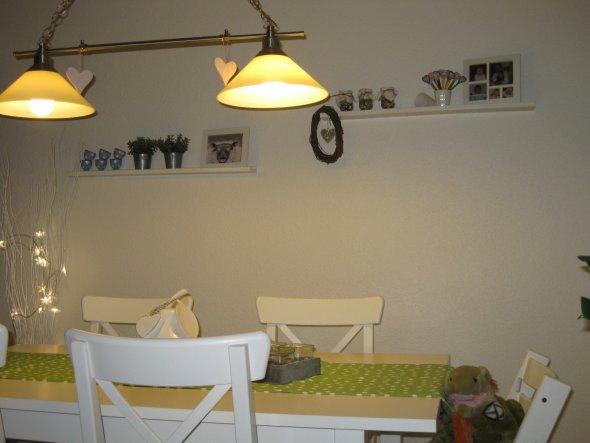 Wohnzimmer 'Essplatz im Wohnzimmer'