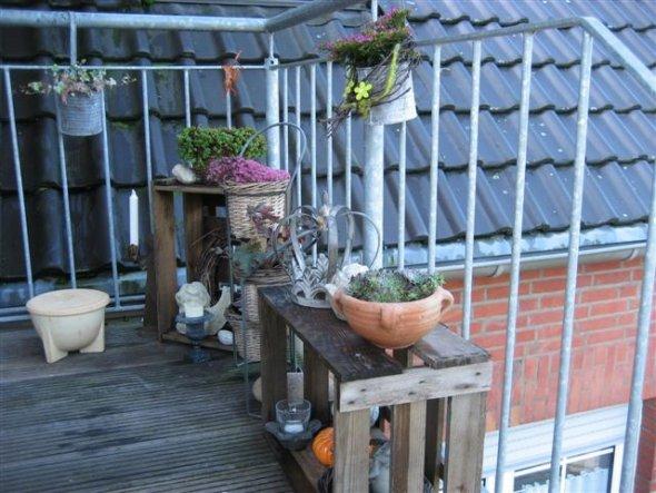 Mini Balkon terrasse balkon minibalkon leben auf dem lande zimmerschau