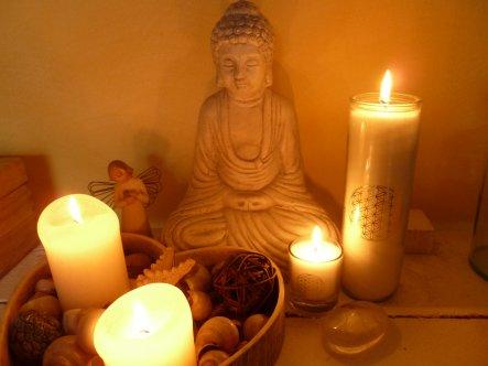 Wohnzimmer 'Ruhe- und Meditationsraum'