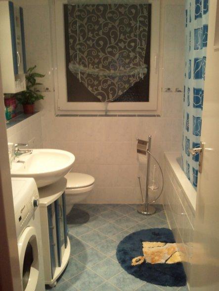 bad 39 unser neues badezimmer 39 unsere wohnung zimmerschau. Black Bedroom Furniture Sets. Home Design Ideas