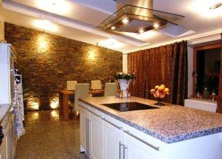 ' Küche und Esszimmer'