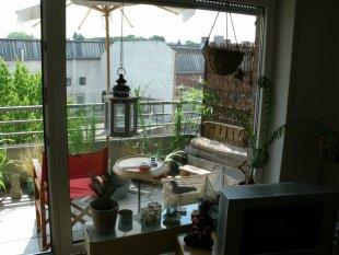 Meine Aussicht auf den Balkon