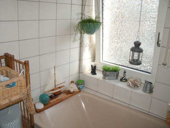 eine Ecke des klitzekleinen Badeszimmers...weitere Fotos folgen noch