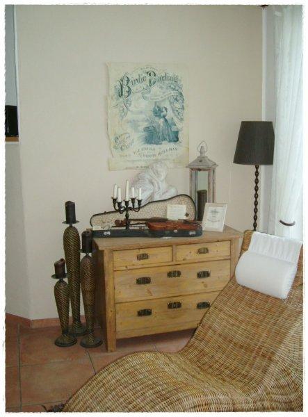 Wohnzimmer 'Schmöker-Ecke'