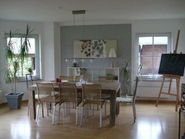 esszimmer 39 wohn und e zimmer im erker 39 home sweet home zimmerschau. Black Bedroom Furniture Sets. Home Design Ideas