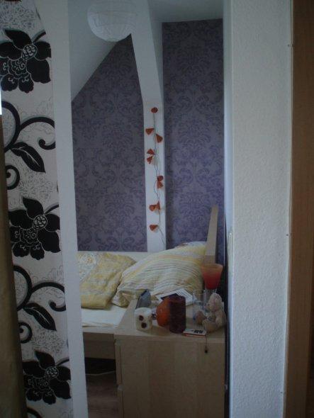 schlafzimmer 39 schlafnische 39 alte erste wohnung zimmerschau. Black Bedroom Furniture Sets. Home Design Ideas