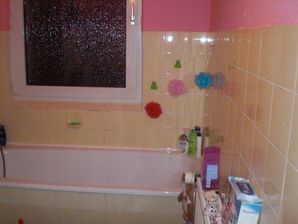 bad 'rosa badezimmer' - froschkönig-kinderzimmer für meine