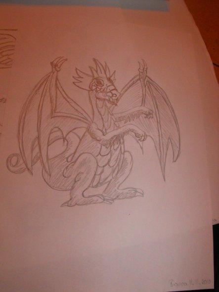 Drachen male ich am Liebsten =)
