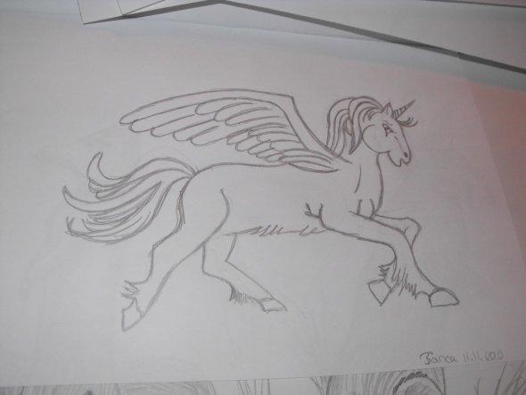 Das habe ich meiner großen Tochter gemalt,nun möchte sie es in Originalgröße an ihre Zimmerwand haben..ich habe was zu tun...