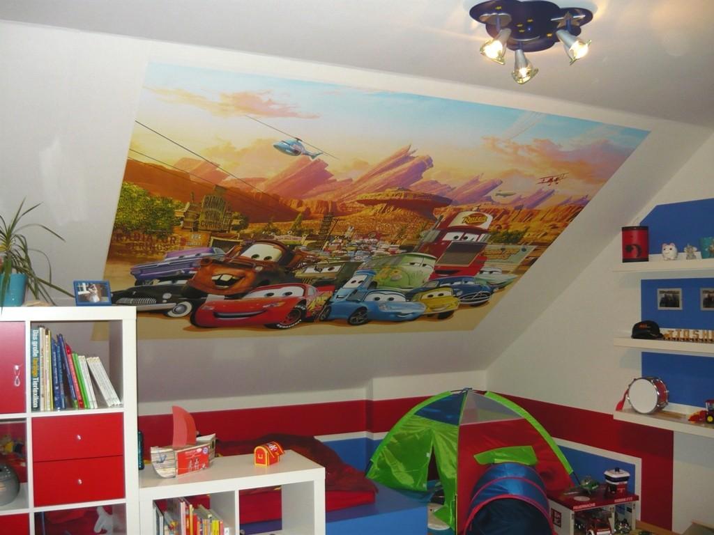 Wandgestaltung Kinderzimmer Cars : Kinderzimmer Cars  kinderzimmer cars, kinderzimmer cars gestalten