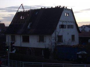 Abbruch des Hauses