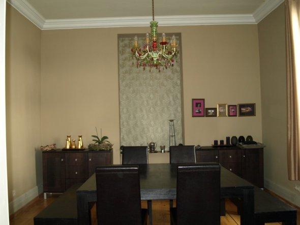 esszimmer 39 chocolat 39 frankfurter altbauschatz zimmerschau. Black Bedroom Furniture Sets. Home Design Ideas