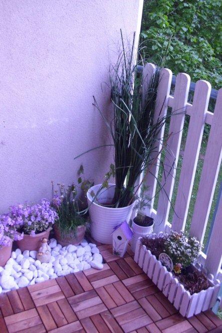 Terrasse Balkon 4 qm Lebenslust Living at Home