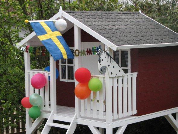 Garten 'Spielhaus Villa Villekulla'