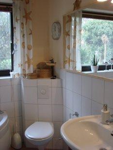 Badezimmer 2001 und 2012