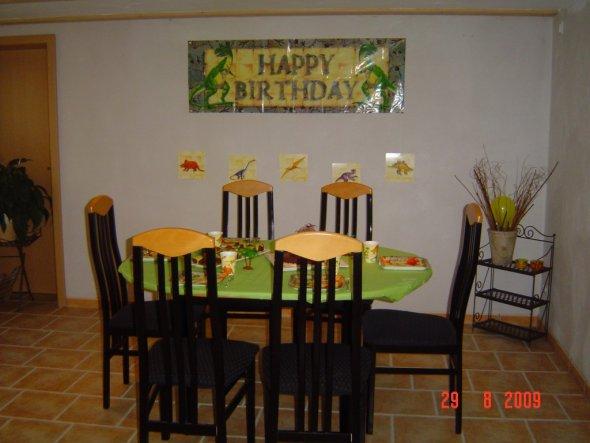 Mein Sohn hatte im August´09 endlich seine Geburtstagsfeier, ist fünf geworden. Hier ein paar Bilder!