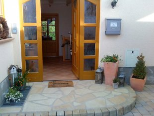 Hausfassade / Außenansichten 'Hauseingang'