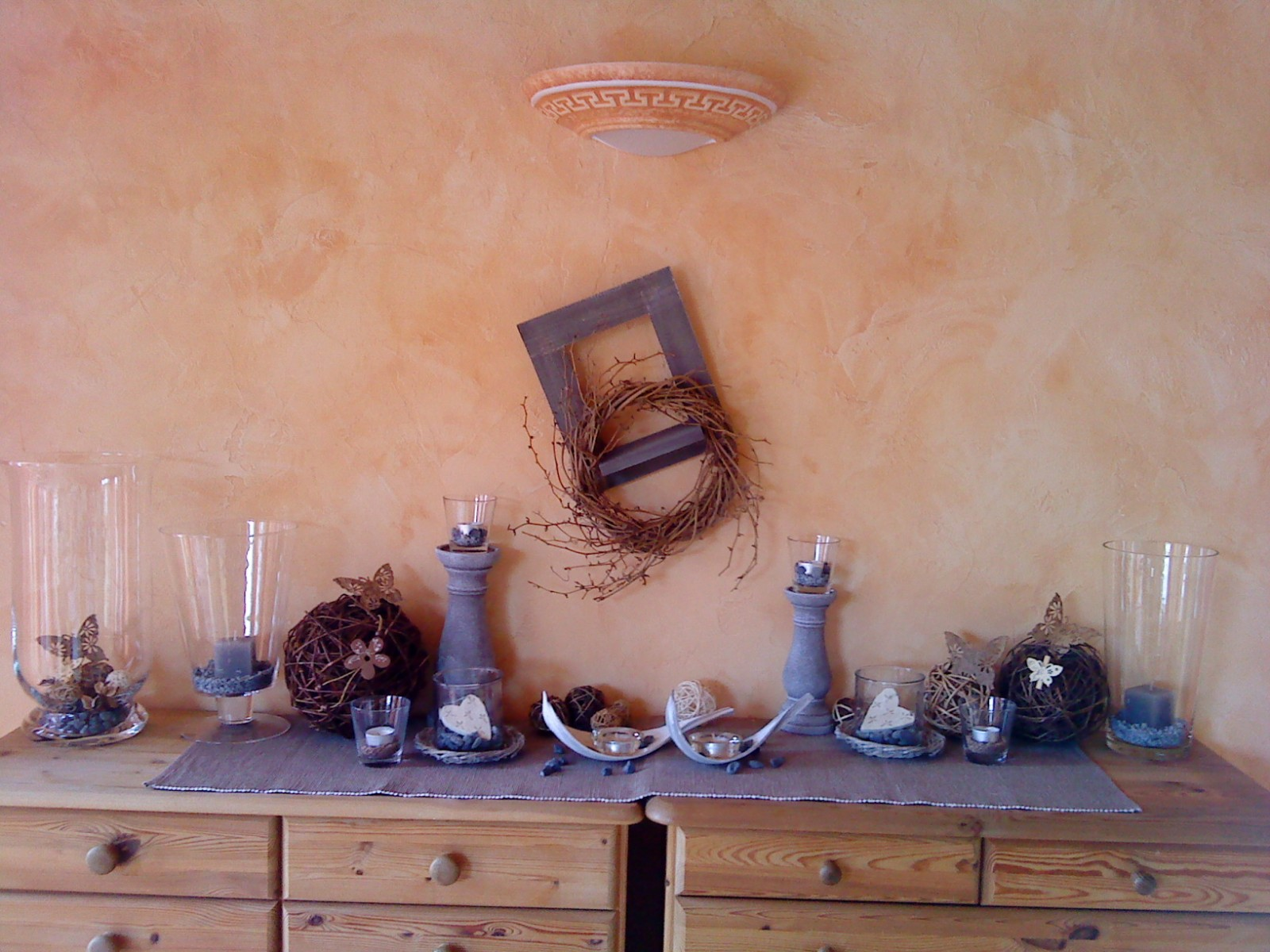 Wohnzimmer 'wohn-essbereich' - Mediterranes Haus - Zimmerschau Wohnzimmer Mediterran Einrichten