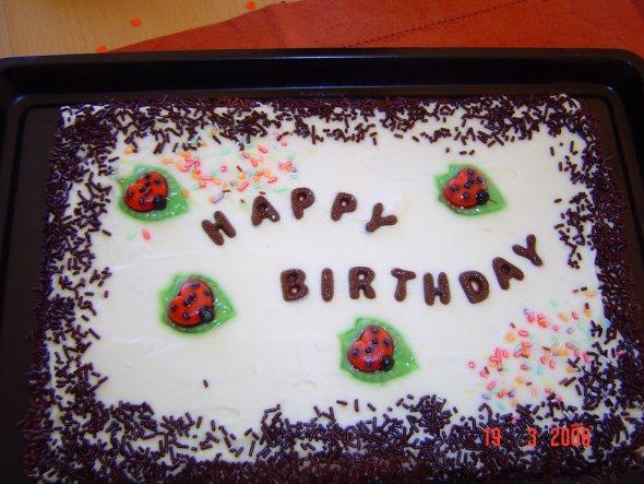 Deko 'Geburtstagskuchen'