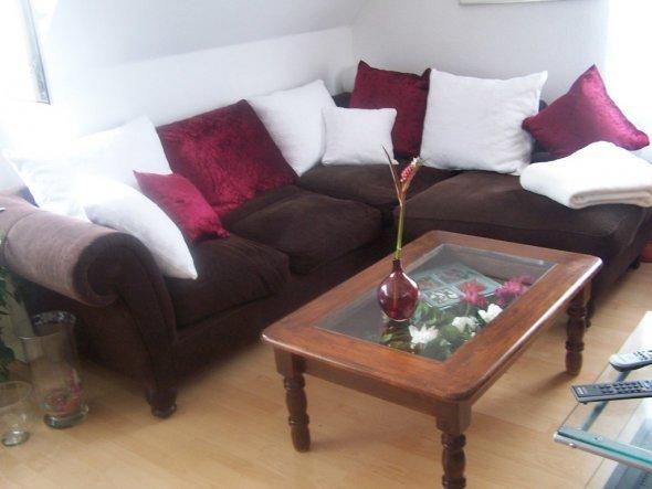 Wohnzimmer 'Mein geändertes Sofa '