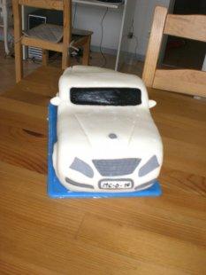 entstehung einer Auto-Torte