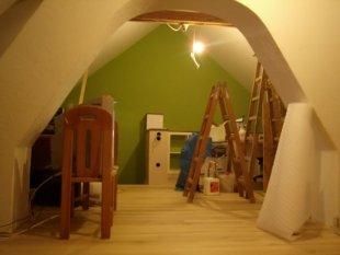 Dachboden - unausgebaut