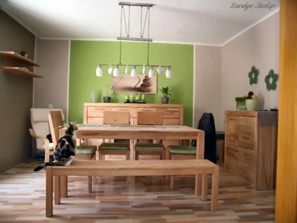 Home Life Essecke Wandgestaltung. Esszimmer Esszimmer   Unser Neues Zuhause    Zimmerschau