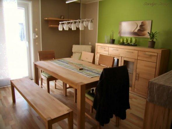 Esszimmer 39 esszimmer 39 unser neues zuhause zimmerschau - Welche mobel passen zu hellem laminat ...