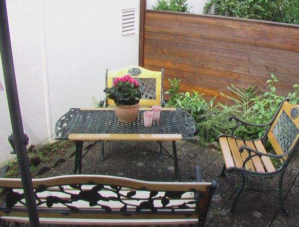 Garten 'der vorgarten'