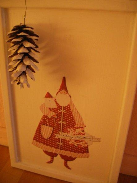 Weihnachtsbild Diele