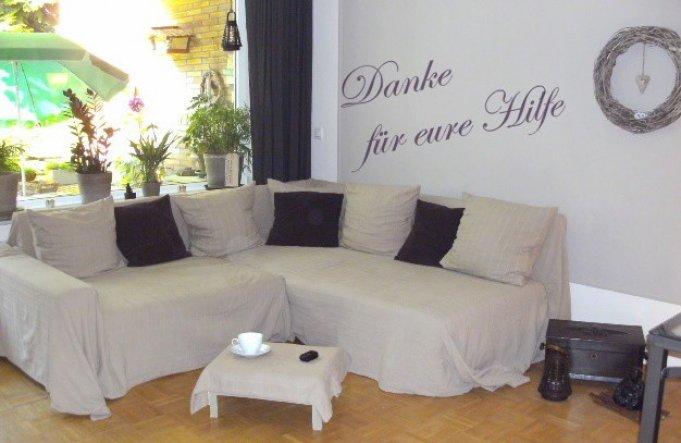 Wohnzimmer 'DANKE'