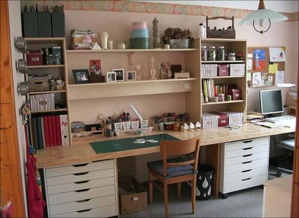 Arbeitszimmer / Büro 'Mein Studio'