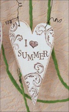 Sommerdeko - shabby, sommerlich und maritim