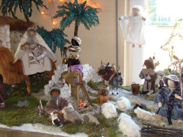 Weihnachtsdeko 'Weihnachtskrippe'