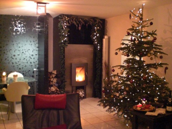 Wohnzimmer 39 unser wohnzimmer 39 mein domizil zimmerschau for Weihnachten wohnzimmer