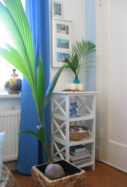 Küche 'Die neue alte Küche - Let's try blue!'