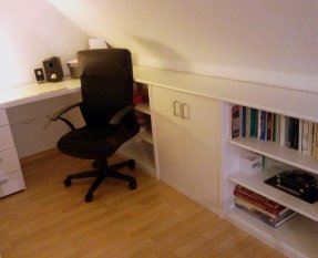 Arbeitszimmer / Büro 'Empore'