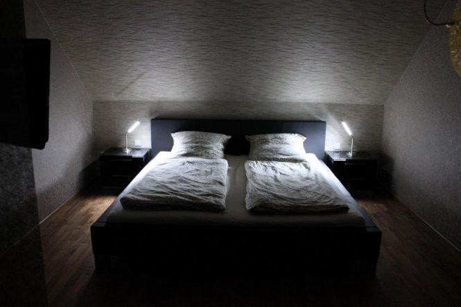Schlafzimmer Wandlampe. design xxl wandleuchte in silber innen ...