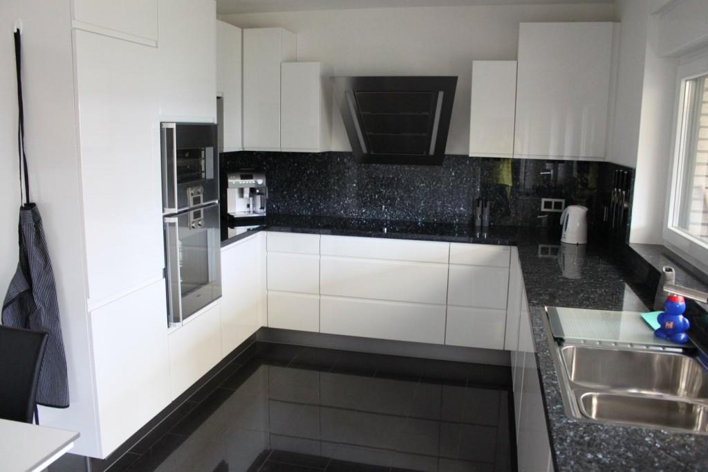 Fußboden Schwarz Weiß ~ Kchenboden schwarz wei boden und in weis modern haus boden und in