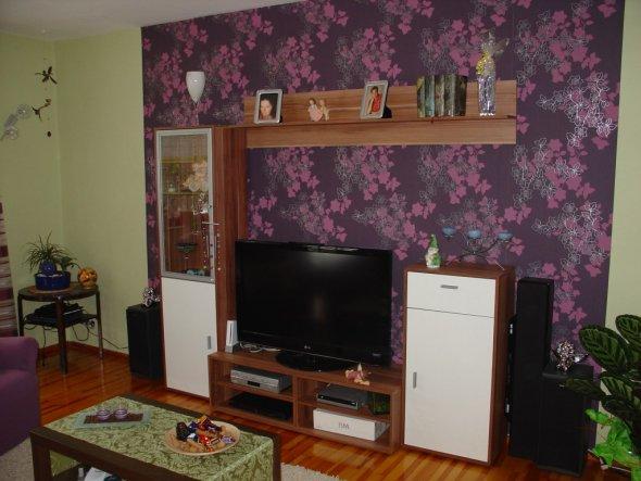 Wohnzimmer 'Traum in Violett'
