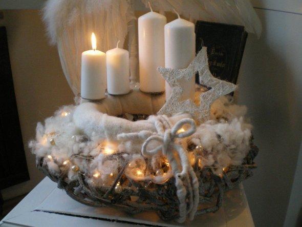 Weihnachtsdeko 'Es weihnachtet ....... .'