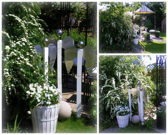 Meine selbstgebauten Gartenengel