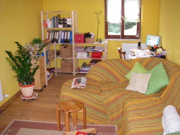 """das wohnzimmer muss ich leider zur hälfte als """"büro"""" nutzen"""
