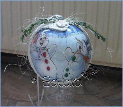 Weihnachtsdeko 'Mein Hobby - Weihnachten'