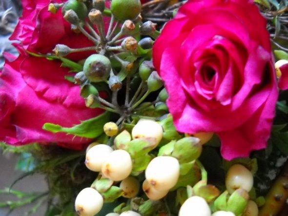 Deko 'Laßt Blumen sprechen'