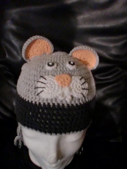 Baumwollmütze mit Ohrenklappen