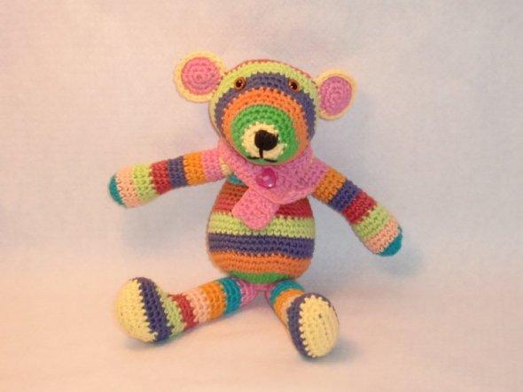 knuddeliger Teddy aus Baumwolle