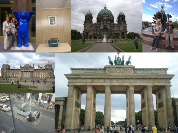 """unsere Kinder wollte so gerne mal Berlin sehen... es waren schöne Tage mit viel """"historischem"""" Programm!"""