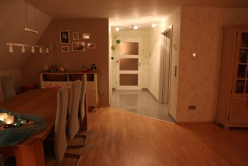 flur/diele 'nochn flur :-)' - steffi's home - zimmerschau, Esszimmer dekoo