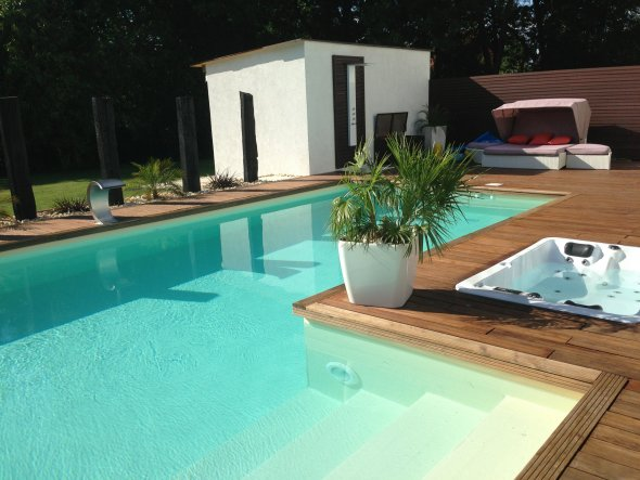 Pool / Schwimmbad 'Unser Pool'